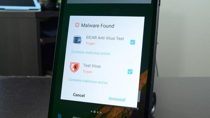 вірус андроїд перевірити