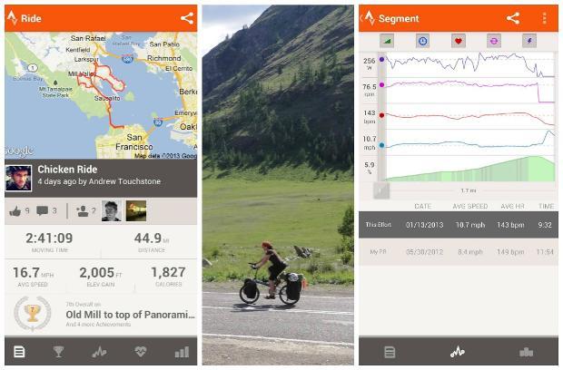 Strava-Cycling